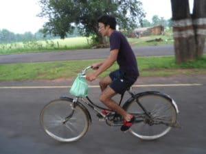 Petite balade à vélo au Madhya Pradesh