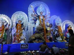 La déesse Durga