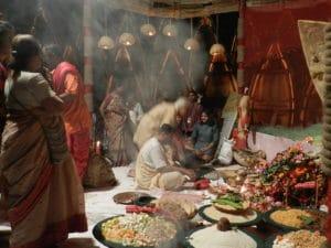 Puja, prières hindoues