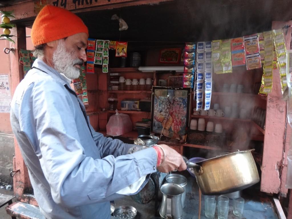 Pause chaï à Jaipur