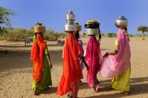 Rajasthan - Femmes dans le désert du Thar