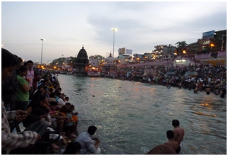 The magical evening Aarti on the Ganges Banks