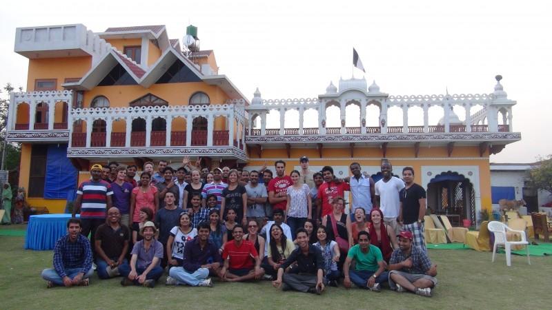 La famille Shanti Travel