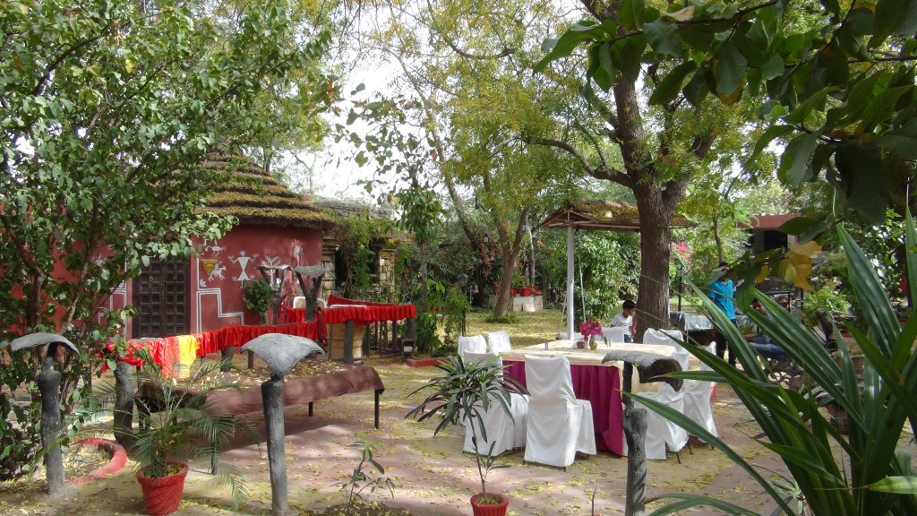 Le jardin de la Guesthouse
