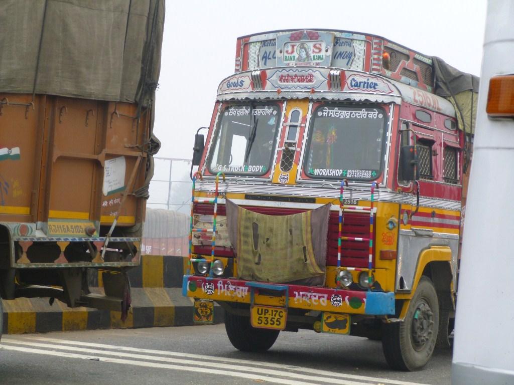 Delhi et sa dense criculation