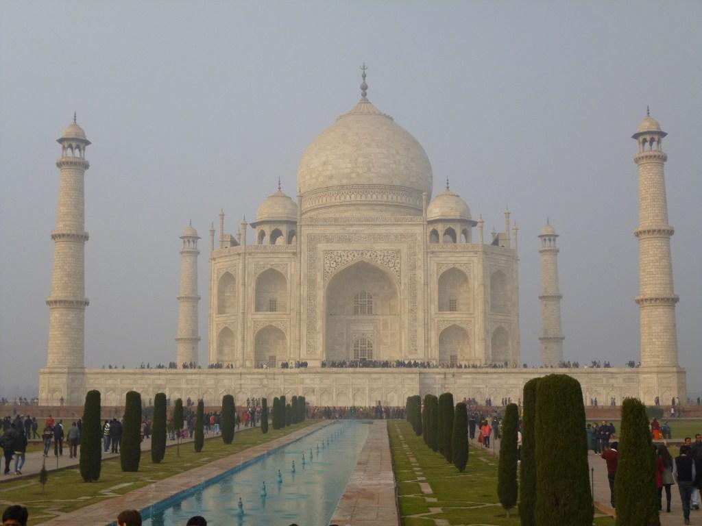 Le célèbre Taj Mahal à Agra
