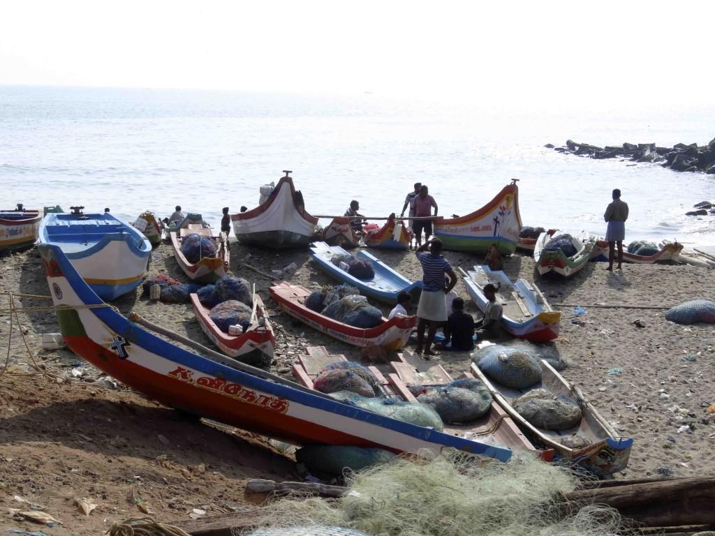 Bord de mer à Pondichéry