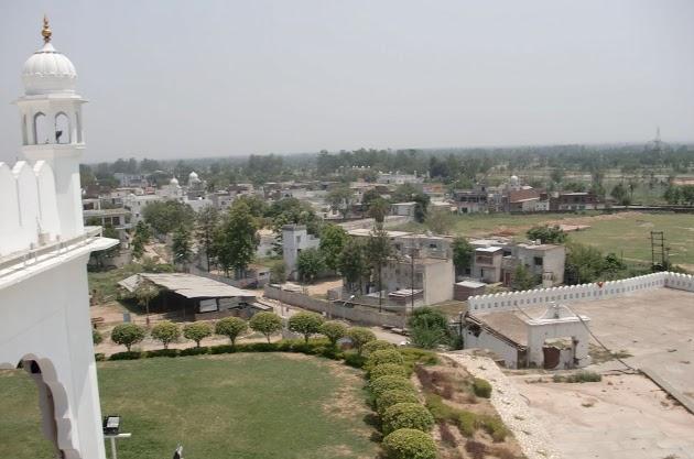 Vue de La Gurudwara