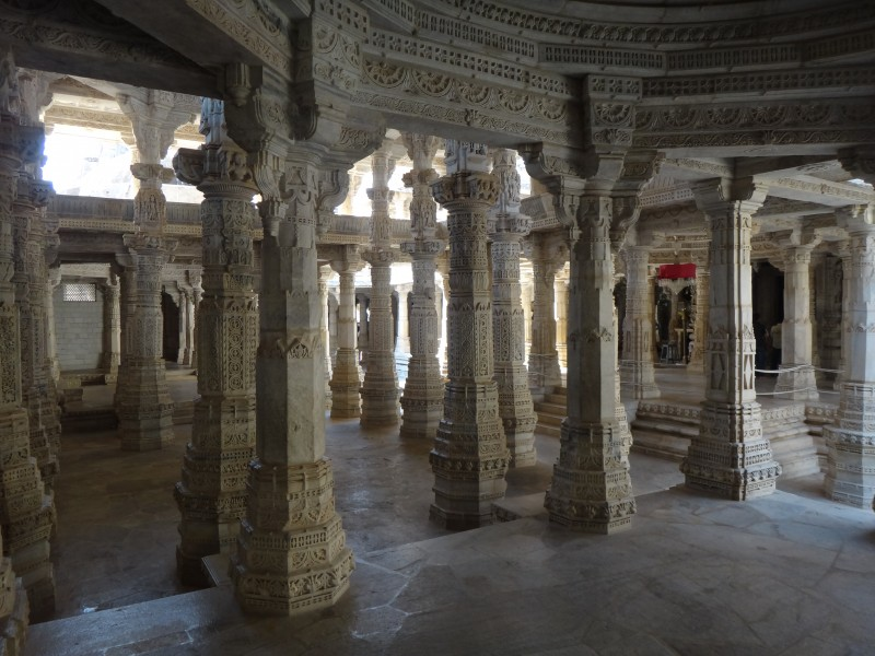 Aperçu du temple d'Adinatha - Ranakpur