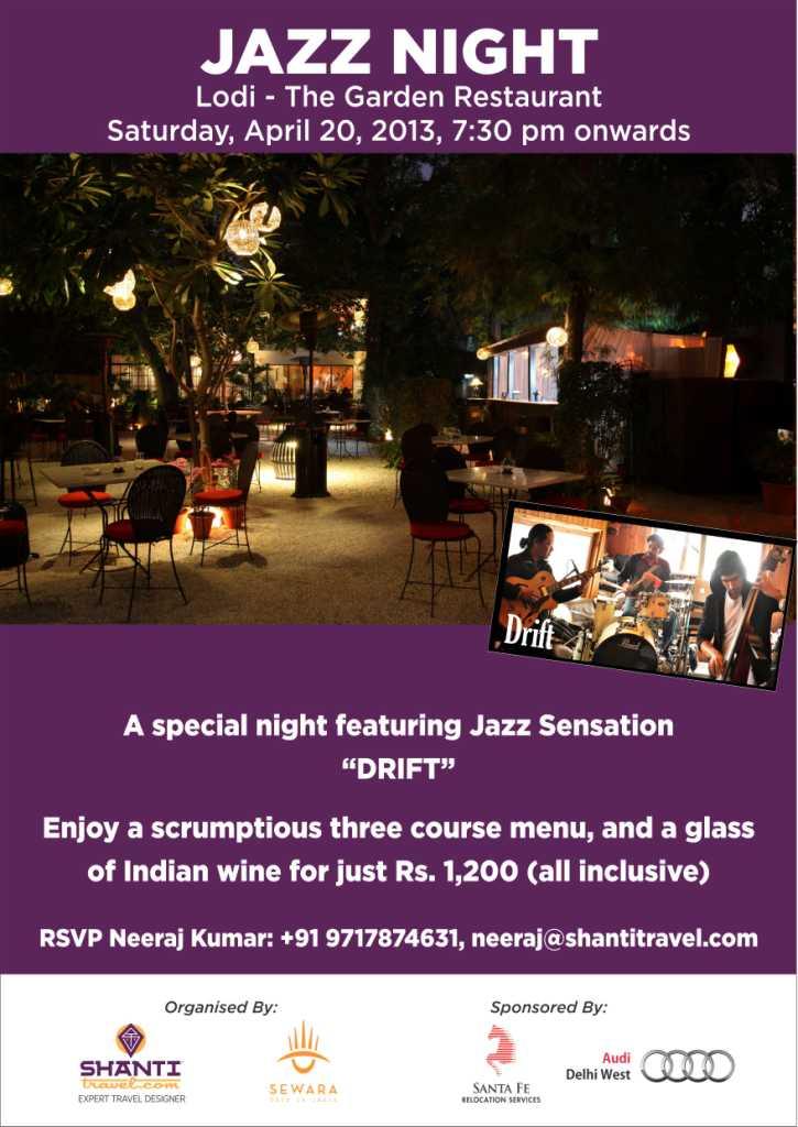 Jazz Night - Shanti Travel