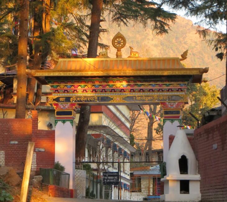 le temple du Dalaï Lama