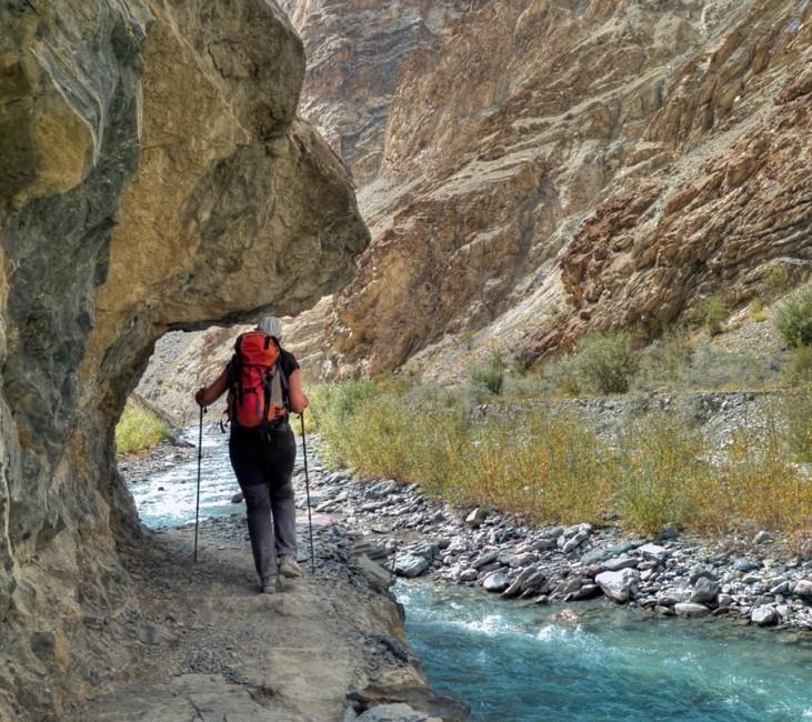 Trekkeur au Ladakh