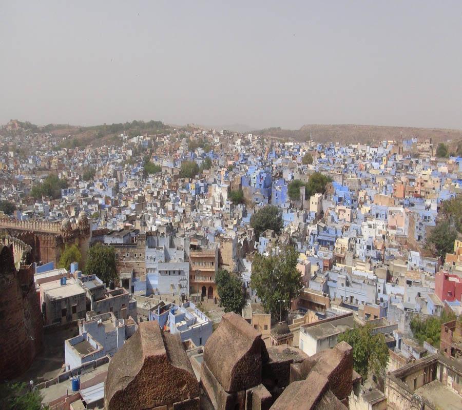 """Jodhpur, die """"blaue Stadt"""""""