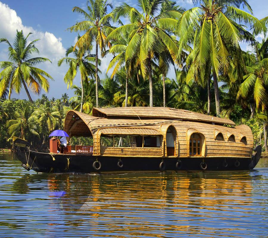 Houseboat au Kerala