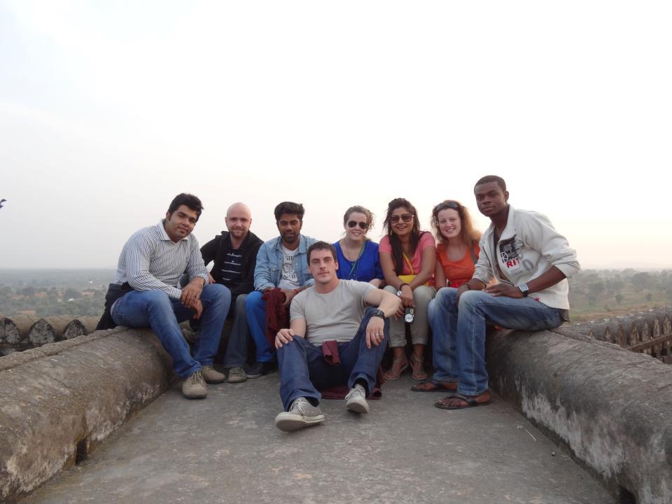 Die Shanti Wallahs in Orchha