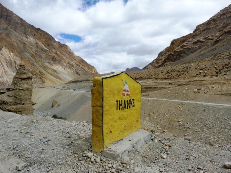 Sur la route de Leh