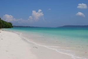 Plage sauvage aux îles Andaman