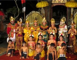 Famille indonésienne