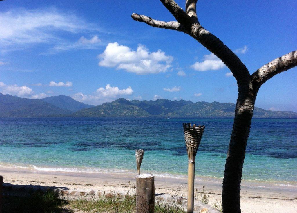 Les eaux turquoises de Gili Air