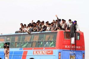 Salut du bus