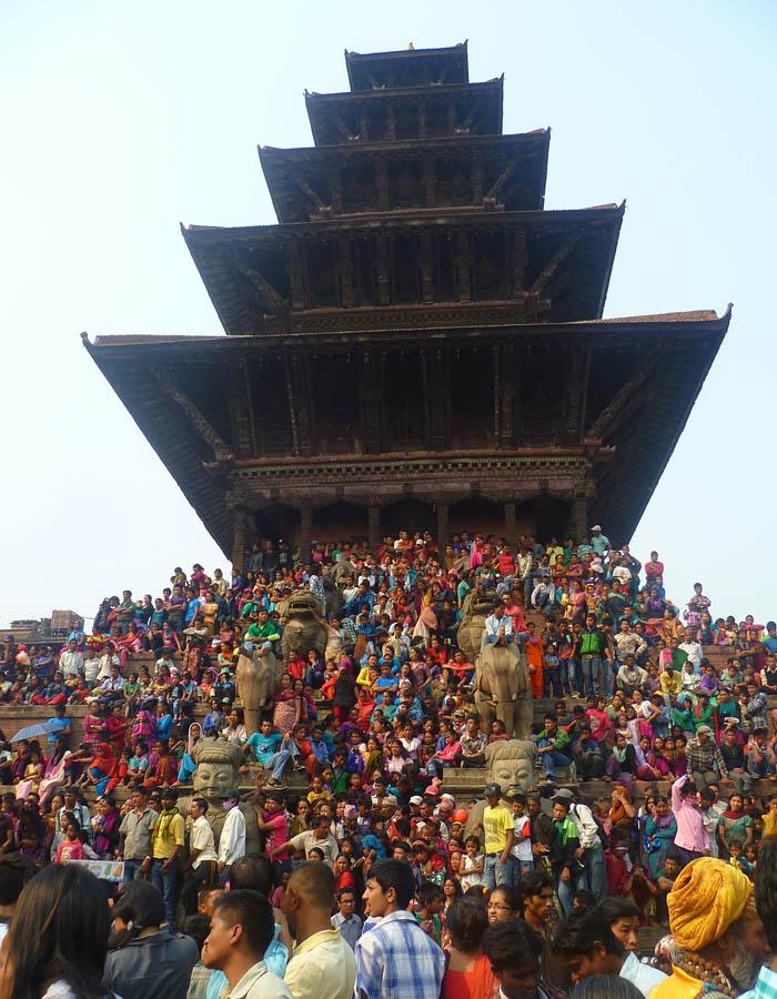 Temple de Nyatapola (Bhaktapur)