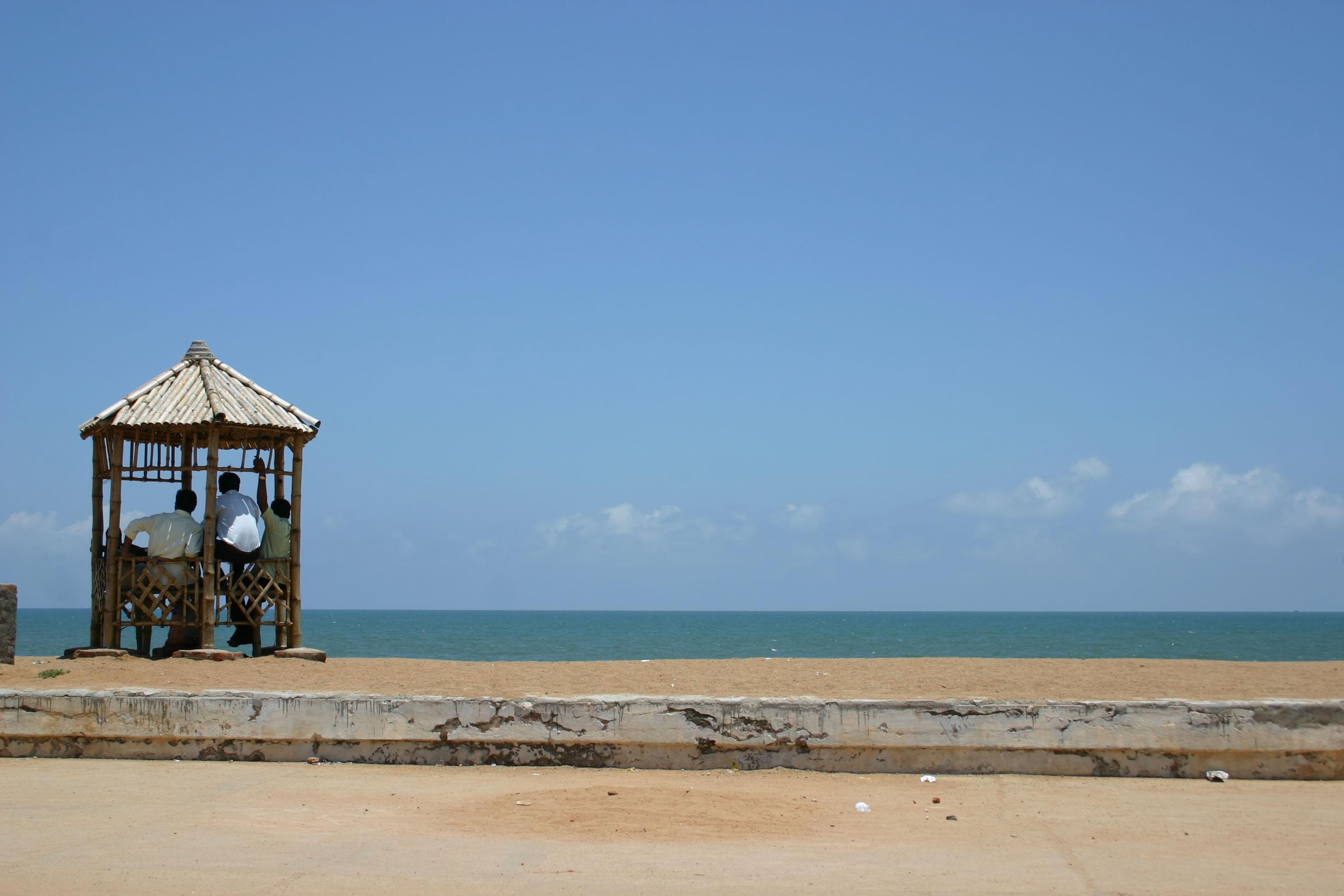 Vue de Pondichéry