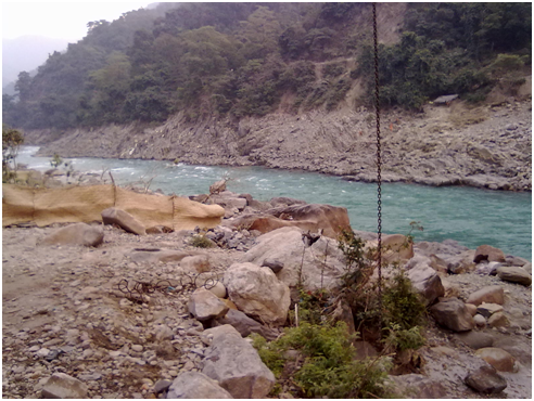 The Ganges in Rishikesh