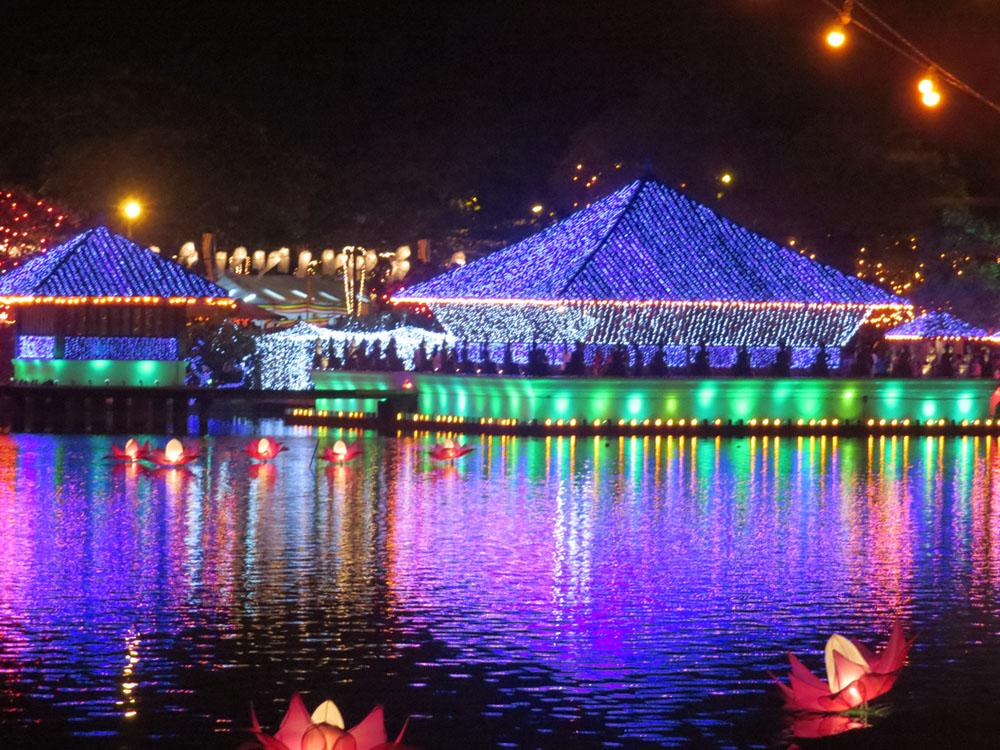 Illuminations sur le lac