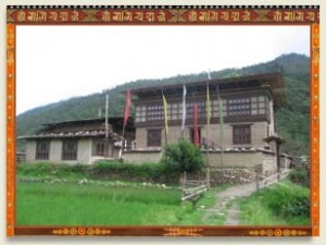 La maison bhoutanaise
