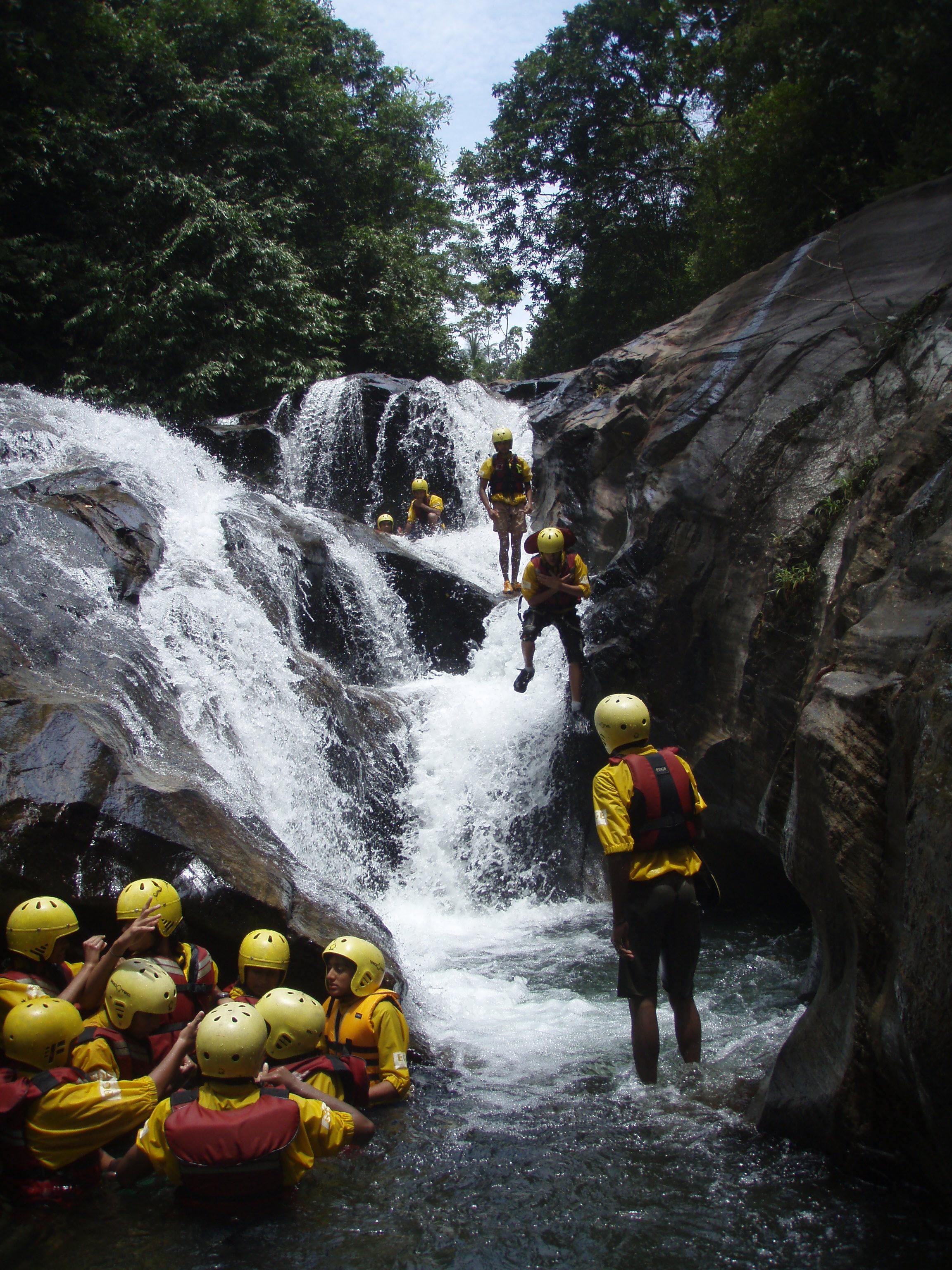 Canyoning in Kithulgala