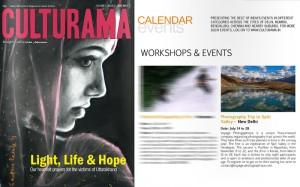 Voyage photographique au Spiti dans le magasine Culturama