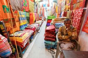 Un magasin de textile