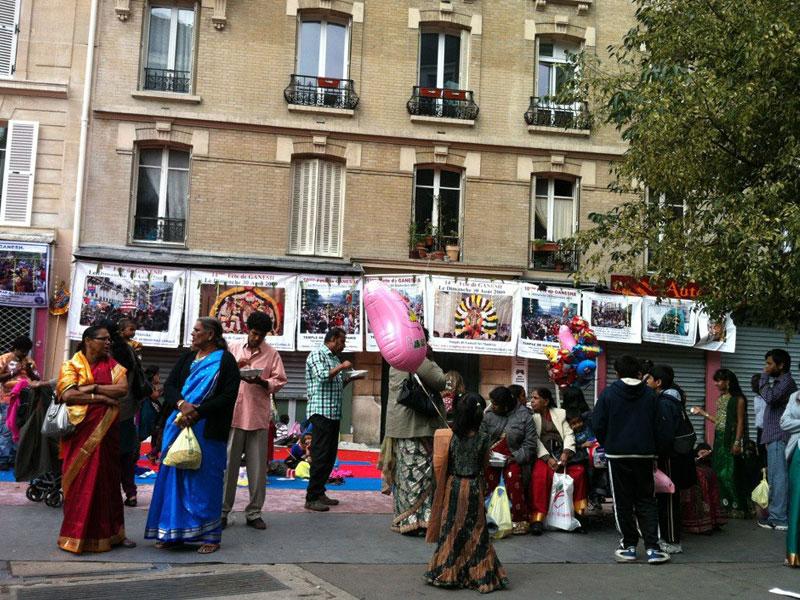 Animations rue Pajol