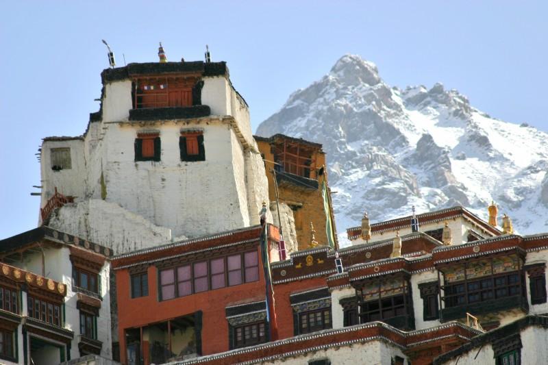 Buddhistisches Kloster in den Bergen