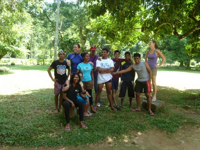 Das Shanti Travel Team aus Colombo