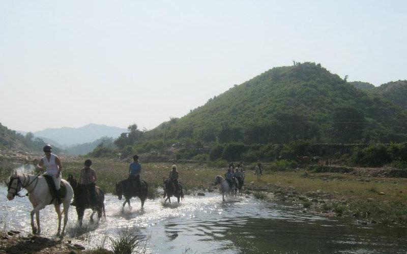 Balade à cheval au Rajasthan