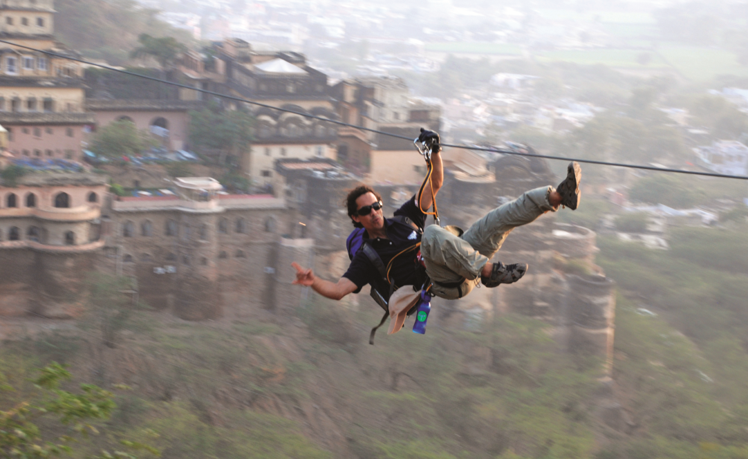 Flying Fox in Neemrana