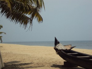 Marari Beach en été