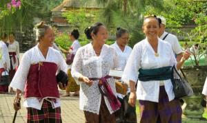Sourires des habitants de Bali