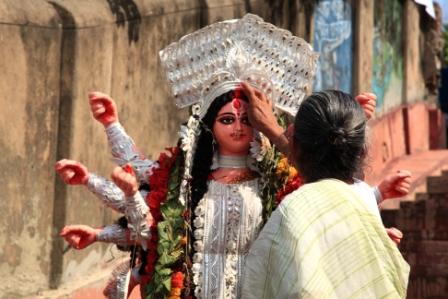 Goddess Durga Gujarat festival