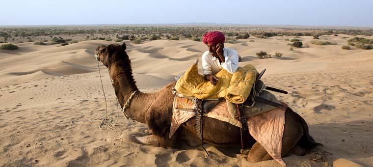 Rajasthan Jaisalmer Desert Camel Ride