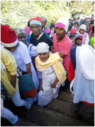 Srilanka Adam's Peak Pilgrimage