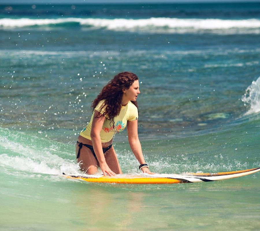 La surf attitude à Bali