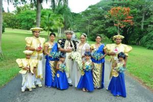 Mariage sri lanka au jardin botanique de Paradeniya