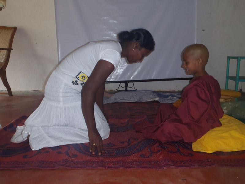 cérémonie au Sri Lanka