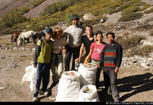 Cleaning Trek by Shanti Travel
