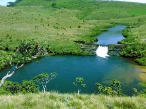 el lago de Samanalawewa