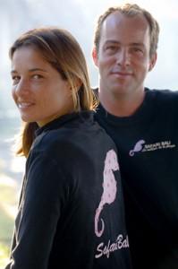 Anne-Sophie Lejeune et Arnaud Théry, pour Safari Bali.