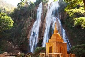 Cascade en Birmanie