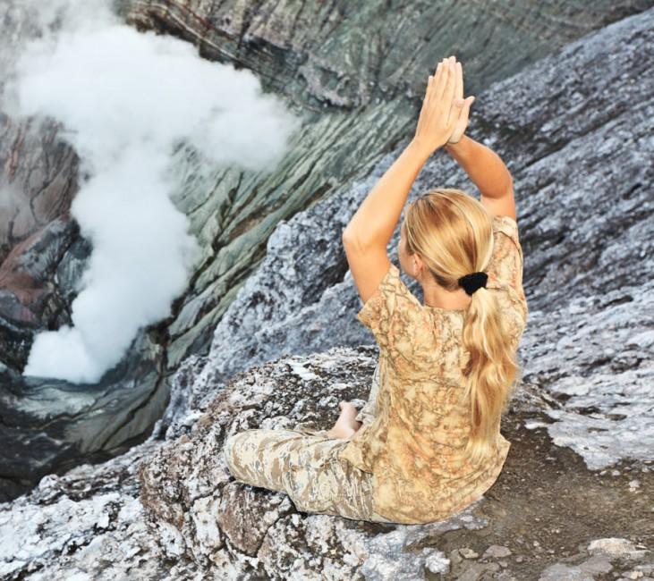 Yoga en Indonésie